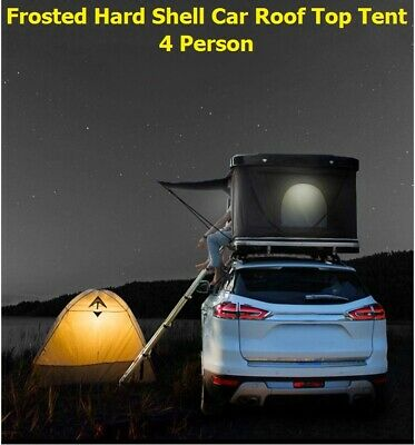 AU1358.75 • Buy Frosted Hard Shell Car SUV Roof Top Pop Up Tent Outdoor Camping 4 Person Tents