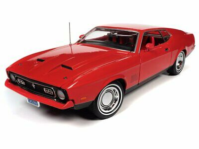 AU227 • Buy Auto World James Bond 1971 Ford Mustang Mach 1 (diamonds Are Forever) 1:18 Scale