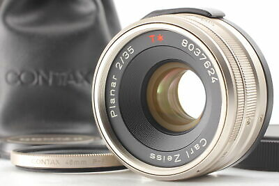 $ CDN677.74 • Buy [Top MINT In Case] Contax Carl Zeiss Planar T 35mm F2 Lens For G1 G2 From JAPAN