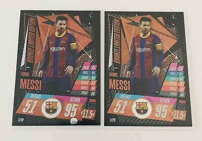 £0.99 • Buy Lionel Messi Bronze Limited Edition X2 20/21 Topps Match Attax