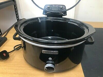 £14.99 • Buy Crock-Pot CSC031 Slow Cooker With Hinged Lid 5.7 L