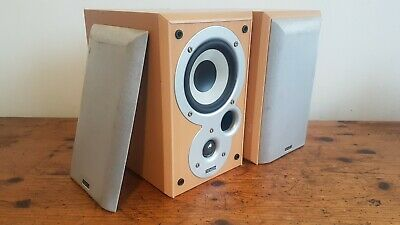 £34 • Buy DENON SC-M101 (Made By MISSION) 2 Way 6 OHM Bookshelf Stereo Speakers.
