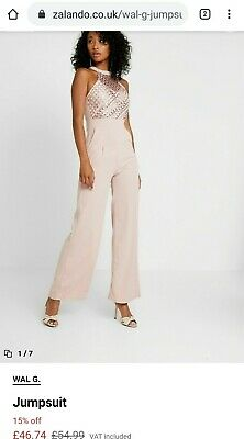 £10.90 • Buy WAL G. Pettite Jumpsuit Size 10 RRP £54.99