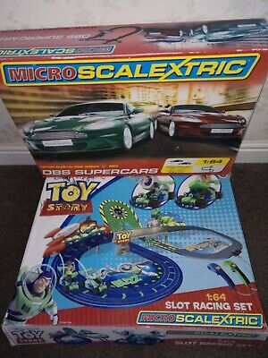£10 • Buy Micro Scalextric Track And Cars *see Description*