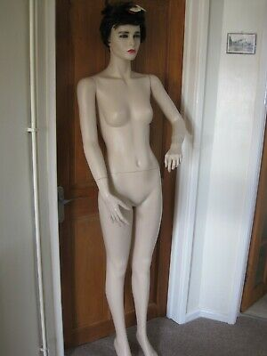 £21 • Buy Female Mannequin Full Body And Head With Articulated Arms And Hands