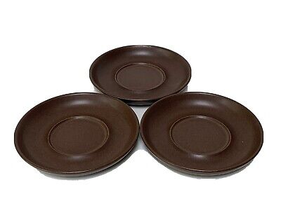 £2.99 • Buy Denby / Langley Mayflower Chocolate Brownsaucers X 3