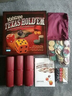 £9.99 • Buy Yahtzee Texas Hold 'Em Game By Parker Brothers Complete Contents Sealed.