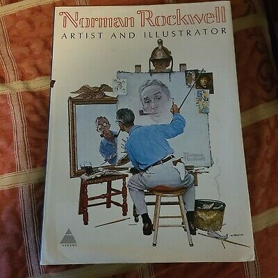 $ CDN75.52 • Buy Norman Rockwell Artist And Illustrator 1970 Book, By Abrams 1st Edition