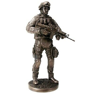 $79.98 • Buy Providing Security US Armed Forces Soldier With Rifle Statue Figurine Military