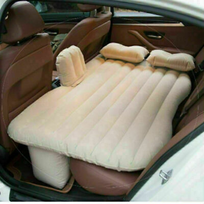 £21.11 • Buy Car Inflatable Travel Mattress Air Bed Back Seat Sleep Rest Mat With Pillow