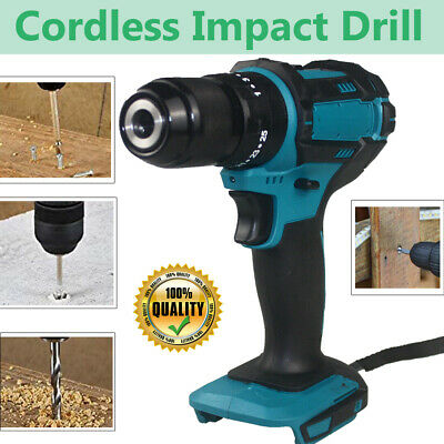 £34.70 • Buy 18V Cordless Brushless Impact Hammer Drill Body Only For Makita Replacement UK