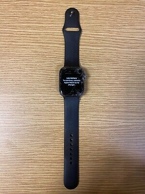 $ CDN1.71 • Buy Space Grey Apple Series 4 44mm Apple Watch Smashed Screen For Parts