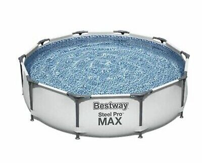 £50 • Buy Bestway 10ft Steel Pro Max Above Ground Swimming Pool✅Fast Postage