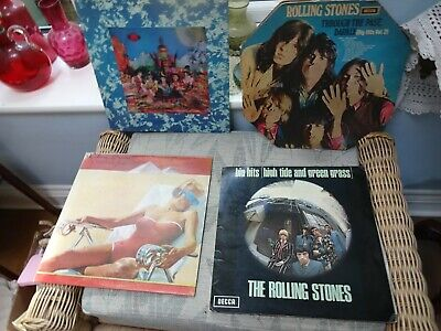 £100 • Buy 4 X Rolling Stones LPs THROUGH THE PAST VOL2  THEIR SATANIC MAJESTIES REQUEST