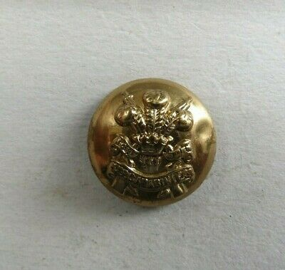 £2 • Buy Military 19 Mm. Brass Button 3rd Carabiniers ( Prince Of Wales Dragoon Guards )