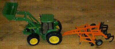 £20 • Buy Britains Ertle John Deere 6830 Large Tractor + Plough.used Condition.