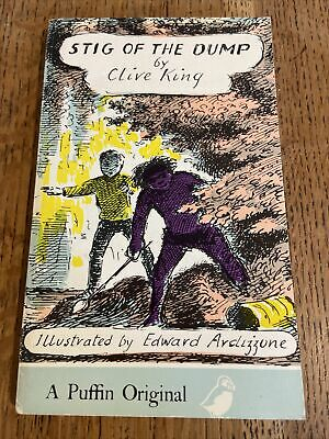 £7.99 • Buy Stig Of The Dump By Clive King 1976 UK Puffin PB - Vintage - Ardizzone