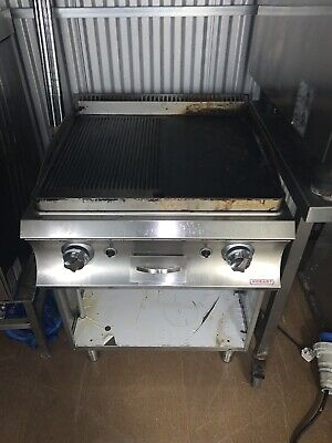 £600 • Buy Hobart Chargrill / Griddle Grill Plate Gas Commercial Catering Stainless Steel