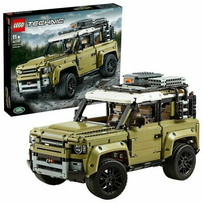 £125 • Buy LEGO Technic Land Rover Defender Collectable Set 2573 Pieces Age 11+ #42110
