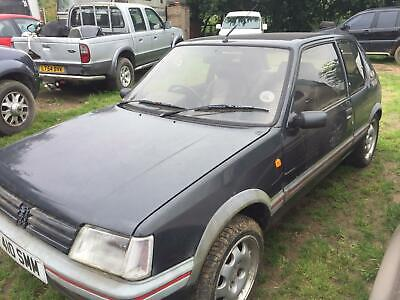 £1660 • Buy 1989 Peugeot 205 1.9 Gti  Barn Find Running Project Solid Car