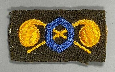 £2.54 • Buy WWII US Army Officer's Cloth Chemical Corps Branch Insignia Patch