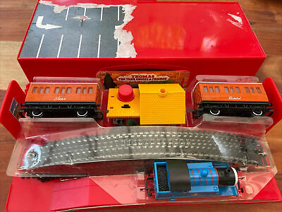 £25 • Buy Hornby Thomas The Tank Engine Train Set Complete Mint Condition Complete Red
