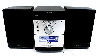£9.99 • Buy SONY CMT-EH45DAB Micro Hi-Fi Stereo System DAB FM Tape CD Player - T17