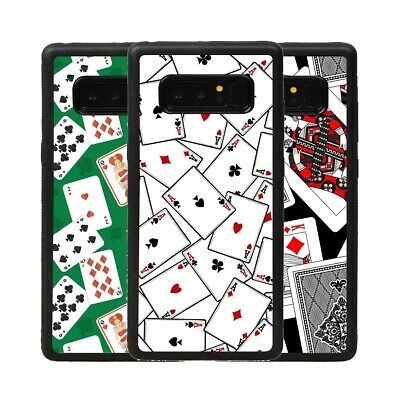 $ CDN12.19 • Buy Play Poker Cards TPU Phone Case Cover For Samsung Galaxy Note 9 10 S20 S21 Ultra
