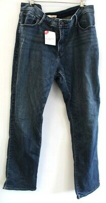 £4.99 • Buy Ladies LEVI'S 314 Shaping Straight Jeans Mid Blue UK 22W Preloved - S46