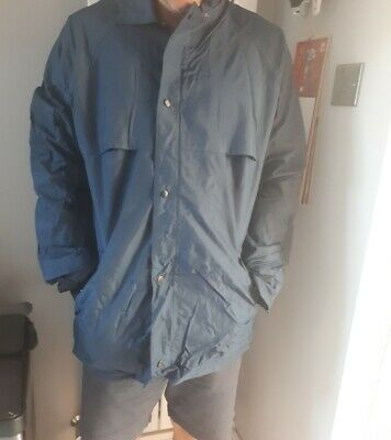 £4.99 • Buy Bus Drivers Jacket Vintage Retro Lined Blue Size Is Medium To Large Used