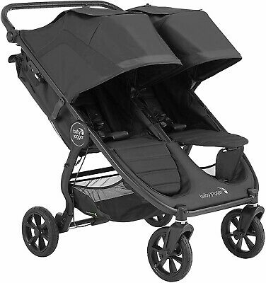 £380 • Buy RRP 500 Baby Jogger City Mini GT 2 Double Pushchair Stroller Raincover Grey
