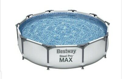 £199.95 • Buy Bestway Steel Pro Max 10ft Garden Frame Swimming Pool - Quick Delivery
