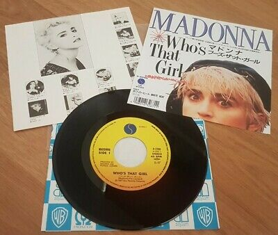 £5 • Buy Madonna - Who's That Girl Japanese 7  *Stunning Condition*