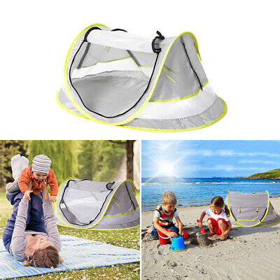 AU12.69 • Buy Baby Mosquito Net Foldable Canopy Tent Travel Bed Cot Pop Up Beach Anti UV AU