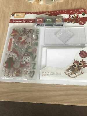 £8.99 • Buy Boofle Christmas Stampers Gift Set BN