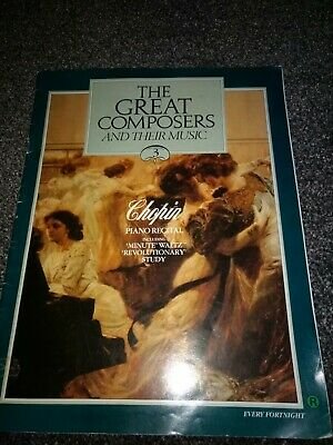 £0.28 • Buy Great Composers Magazine 1990 Edition CHOPIN