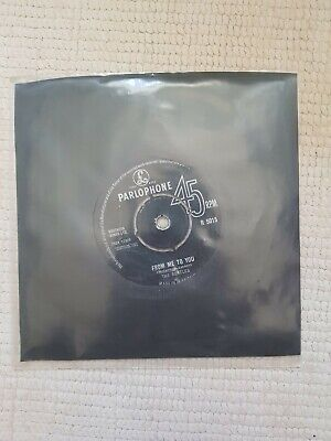 £5.99 • Buy The Beatles From Me To You/thank You Girl 7inch Vinyl Single