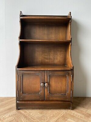 £250 • Buy Ercol Waterfall Dresser  Bookcase Shelves & Cupboard 476 ** Free Delivery **