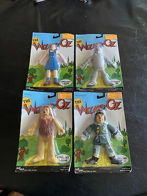 £28.61 • Buy The Wizard Of Oz Bendable Figure Just Toys Dorothy, Tinman, Lion, Scarecrow 1989