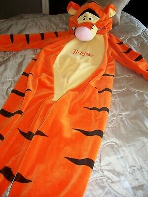 £0.99 • Buy Disney Store Child Tigger All In One Costume Fancy Dress Outfit 6-8 Yrs