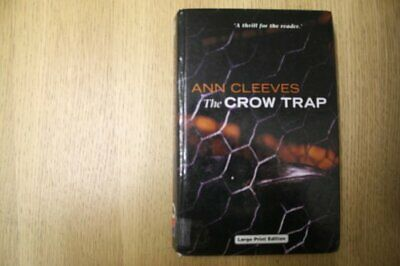 £20.99 • Buy The Crow Trap (Charnwood Library) By Cleeves, Ann Hardback Book The Cheap Fast