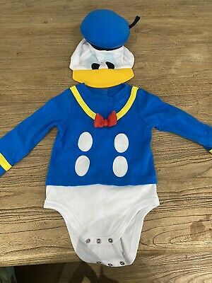 £0.99 • Buy Baby Boy Fancy Dress Costume, Donald Duck Outfit  12-18 Months Dress Up