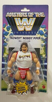 $27.99 • Buy Masters Of The WWE Universe  ROWDY  RODDY PIPER Action Figure Wave 5 MOTU WWE