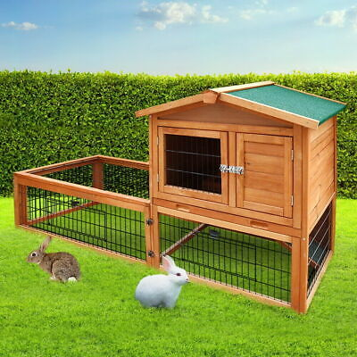 £15.33 • Buy I.Pet Rabbit Hutch Hutches Large Metal Run Wooden Cage Chicken Coop Guinea Pig