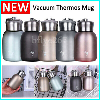 £6.63 • Buy Mini Thermos Cup Stainless Steel Vacuum Flask Coffee Travel Drink Mug Winter