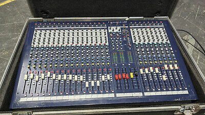 £439.99 • Buy Soundcraft LX7ii 24 Channel Mixing Console Including Flight Case