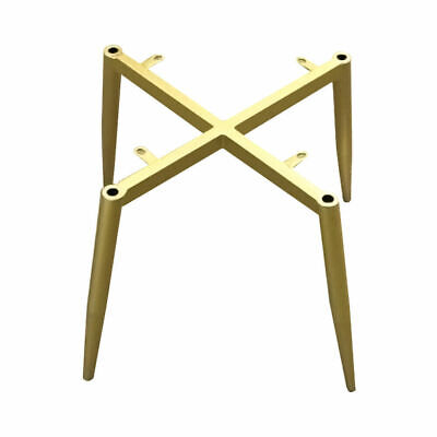 £9.99 • Buy Gold Metal Furniture Legs Feet 30cm Replacement Table Cabinet Chair Leg