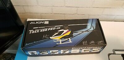 £64 • Buy Align T-Rex 450 Pro 6 Channel Aerobatic Rc Helicopter Kit