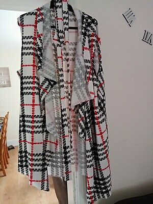 £1.10 • Buy Waterfall Cardigan Size 26 With Belt
