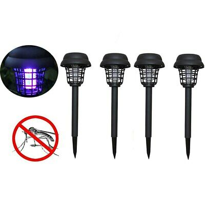 £17.99 • Buy Solar Powered Outdoor Mosquito Fly Bug Insect Zapper Killer Trap Lamp LED Light